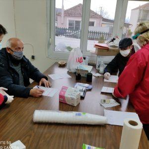 Eυχαριστήριο του συλλόγου εθελοντών αιμοδοτών αιμοπεταλιοδοτών Σταγόνα Ελπίδας για την αιμοδοσία στην Ακρινή