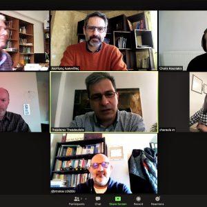 Συνάντηση μελών της Δημοτικής Κίνησης 'Κοζάνη- Τόπος να ζεις' με τον πρύτανη  Θ. Θεοδουλίδη