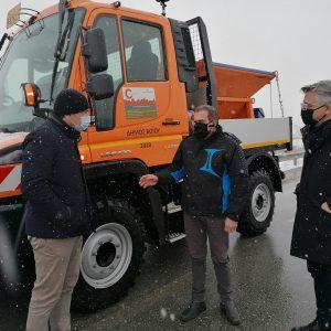 Σε πλήρη ετοιμότητα ο μηχανισμός του Δήμου Βοΐου για τον αποχιονισμό και την αντιμετώπιση του επερχόμενου παγετώνα (Φωτογραφίες)
