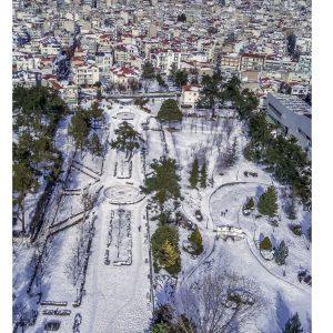 kozan.gr: Φωτογραφίες της Κοζάνης, από drone, του Μανώλη Δημουδιά