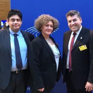 Η Σάγια Τσαουσίδου, από το Καπνοχώρι Κοζάνης, είναι η νέα πρόεδρος του Διεθνούς Διοικητικού Συμβουλίου της Ένωσης Ευρωπαίων Δημοσιογράφων
