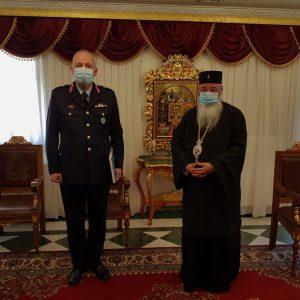 Εθιμοτυπική επίσκεψη του Γενικού Περιφερειακού Αστυνομικού Διευθυντή Δυτικής Μακεδονίας στο Μητροπολίτη Σερβίων και Κοζάνης