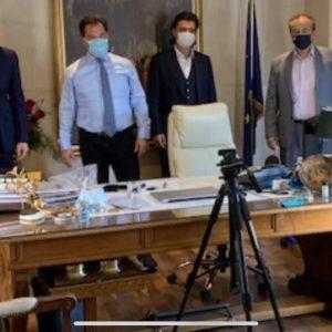 kozan.gr: Μιχάλης Παπαδόπουλος & Στάθης Κωνσταντινίδης στον Υπουργό Ανάπτυξης, Άδωνι Γεωργιάδη – Αισιόδοξα μηνύματα για επιπλέον μέτρα στήριξης των επιχειρήσεων με χρηματοδοτικά εργαλεία που πρέπει να περιλαμβάνουν όλες τις πληγείσες επιχειρήσεις