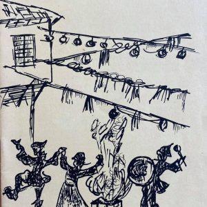 Αφίσα από το αρχείο του ΟΑΠΝ, από τις Αποκριές του 1968