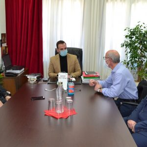 Συνάντηση του Δημάρχου Καστοριάς με το νέο Δ.Σ. της Ελληνικής Ομοσπονδίας Γούνας