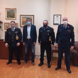 Εθιμοτυπικές επισκέψεις γνωριμίας πραγματοποίησε ο Διοικητής της Περιφερειακής Πυροσβεστικής Διοίκησης Δυτικής Μακεδονίας, Αρχιπύραρχος Σωτήριος Κορέλας (Φωτογραφίες)