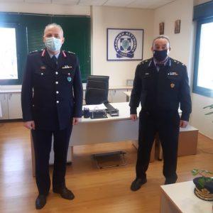 Εθιμοτυπικές επισκέψεις γνωριμίας πραγματοποίησε ο Διοικητής της Περιφερειακής Πυροσβεστικής Διοίκησης Δυτικής Μακεδονίας, Αρχιπύραρχος Σωτήριος Κορέλας