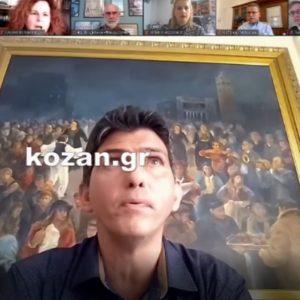 "kozan.gr: Η ώρα του σεισμού ""βρήκε"" τη Δημοτική Αρχή του Δήμου Κοζάνης να δίνει συνέντευξη τύπου για τις Αποκριές – Οι αντιδράσεις όλων (Βίντεο)"