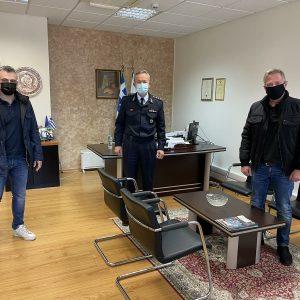 Εθιμοτυπικές συναντήσεις αντιπροσωπείας της Ένωσης Αστυνομικών Υπαλλήλων Κοζάνης