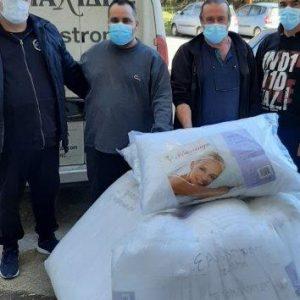 Ευχαριστήριο της Διοίκηση του Γενικού Νοσοκομείου Πτολεμαΐδας για την δωρεά 100 μαξιλαριών ύπνου από την εταιρεία Π. Κυριακίδης