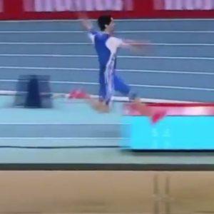 kozan.gr: Aυτό είναι το χρυσό άλμα, στα 8.35, του Πρωταθλητή Ευρώπης, Μίλτου Τεντόγλου (Βίντεο)
