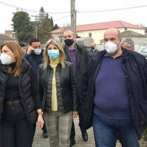 Επίσκεψη του Αντιπεριφερειάρχη της Περιφερειακής Ενότητας Γρεβενών, Ιωάννη Γιάτσιου στους σεισμόπληκτους της ευρύτερης περιοχής της Ελασσόνας