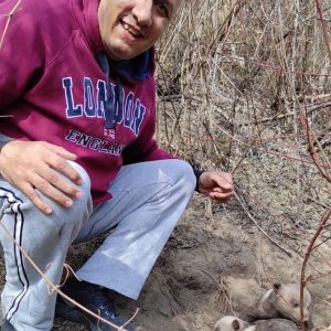 Tσοτύλι: Βγήκε για περίπατο και «έπεσε» πάνω σε αρκουδάκια!
