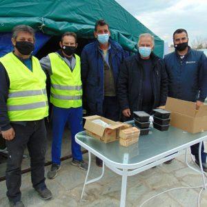 Η ΠΕΔ Δυτικής Μακεδονίας δίπλα στους σεισμόπληκτους της Θεσσαλίας-Δασταμάνης και Κορδίλας σε Ελασσόνα, Δαμάσι και Βλαχογιάννι (Φωτογραφίες)