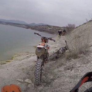 Εnduro περιπλανήσεις κοντά στη Λίμνη Πολυφύτου (Βίντεο)