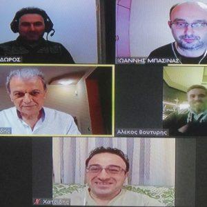 """Γιώργος Αμανατίδης: Συζήτηση με το Διοικητικό Συμβούλιο του Σωματείου Καφεζαχαροπλαστείων Κοζάνης """"ΕΡΜΗΣ"""""""