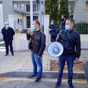 """Το """"Συντονιστικό Εργατικών Σωματείων και Φορέων Δυτ. Μακεδονίας Ενάντια στην Απολιγνιτοποίηση"""" για την αυτοκινητοπομπή διαμαρτυρίας ενάντια στην απολιγνιτοποίηση που πραγματοποιήθηκε το Σάββατο 13/3"""