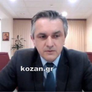 kozan.gr: Γ. Κασαπίδης: 553 συνολικά τα ενεργά κρούσματα κορωνοϊού στην Περιφέρεια Δ. Μακεδονίας το τελευταίο  δεκατετραήμερο – 390 στην Π.Ε. Κοζάνης, 113 στην Π.Ε. Καστοριάς, 29 στην Π.Ε. Γρεβενών & 21 στην Π.Ε. Φλώρινας (Βίντεο)