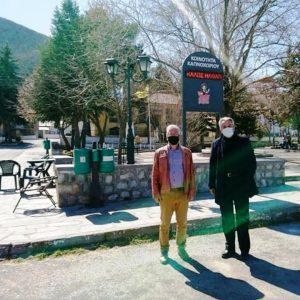 Πολύμυλο-Καπνοχώρι επισκέφτηκε ο Αντιπεριφερειάρχης Π.Ε. Κοζάνης Γρηγόρης Τσιούμαρης