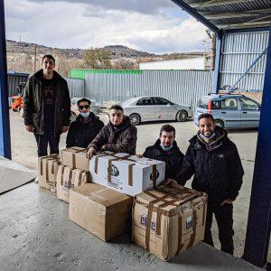 H Nεολαία Χρυσαυγής Βοΐου συγκέντρωσε το χρηματικό ποσό των 347 ευρώ κι αγόρασε διάφορα προϊόντα για τους σεισμόπληκτους της Ελασσόνας (Φωτογραφίες)
