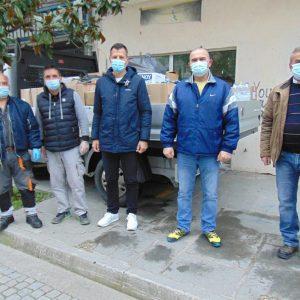 Δήμος Γρεβενών: Αποστολή τροφίμων και ειδών πρώτης ανάγκης στους σεισμόπληκτους της Ελασσόνας και του Τυρνάβου