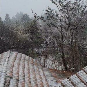 kozan.gr: Ώρα 12.00: Πυκνή χιονόπτωση στην Ποντοκώμη (Βίντεο)