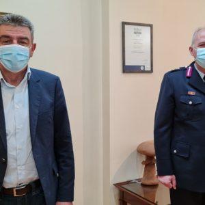 Συνάντηση Δημάρχου Γρεβενών Γιώργου Δασταμάνη με τον νέο Γενικό Περιφερειακό Αστυνομικό Διευθυντή Θωμά Νέστορα