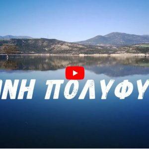Η Πανέμορφη Λίμνη Πολυφύτου από ψηλά – Σε μόλις 4 λεπτά μια απέραντη ομορφιά  (Βίντεο)