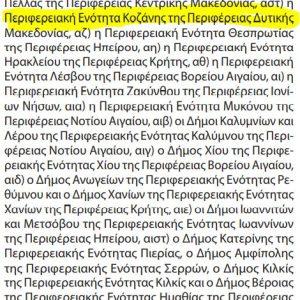 kozan.gr: Αυτό είναι το ΦΕΚ, με τα έκτακτα μέτρα για τον κορωνοϊό COVID-19, για την περίοδο 29/3 – 5/4, τα οποία αφορούν, στο επίπεδο αυξημένου κινδύνου (βαθύ κόκκινο), τόσο την Π.Ε. Κοζάνης όσο και τον Δήμο Γρεβενών