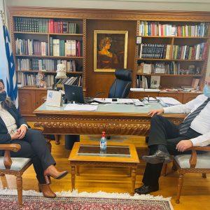 Στην έδρα της Περιφερειακής Ενότητας Κοζάνης η Επικεφαλής του Γραφείου Μακεδονίας του Πρωθυπουργού Μαρία Αντωνίου
