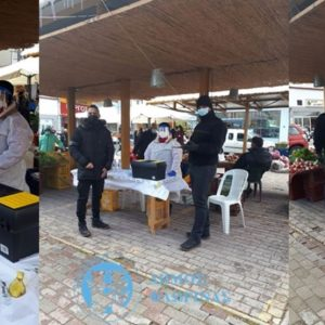 Rapid test στις λαϊκές αγορές της Φλώρινας