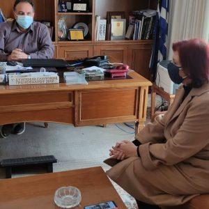 Το Επιμελητήριο Κοζάνης επισκέφθηκε η Βουλευτής της Ν.Δ. στη Π.Ε. Κοζάνης Παρασκευή Βρυζίδου