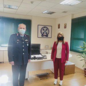 Το Αστυνομικό Μέγαρο Κοζάνης επισκέφθηκε η επικεφαλής του Γραφείου του Πρωθυπουργού στη Θεσσαλονίκη Μαρία Αντωνίου