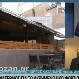 "kozan.gr: Δηλώσεις Περιφερειάρχη Δ. Μακεδονίας Γ. Κασαπίδη μετά τη σημερινή ανακοίνωση των νέων 167 κρουσματών κορωνοϊού στην Π.Ε. Κοζάνης: ""Η σημερινή μέρα είναι ιδιαίτερα φορτισμένη καθώς έχουμε το 20%  συνολικά των ενεργών κρουσμάτων του τελευταίου 14ημερου εκδηλώθηκαν μόλις σήμερα. Είναι ένα ηχηρό μήνυμα/καμπανάκι που όλο το προηγούμενο διάστημα φωνάζαμε"" (Βίντεο)"