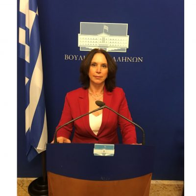 Καλλιόπη Βέττα: «Τα περιφερειακά ιατρεία της Π.Ε. Κοζάνης πρέπει να λειτουργήσουν άμεσα και με πλήρη σύνθεση – Κατάθεση κοινοβουλευτικής ερώτησης»