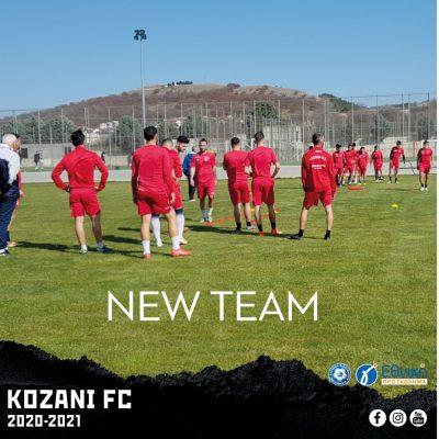 Νέα εποχή, νέο ξεκίνημα, ενισχυμένη… κι έτοιμη για όλα η Κοζάνη!