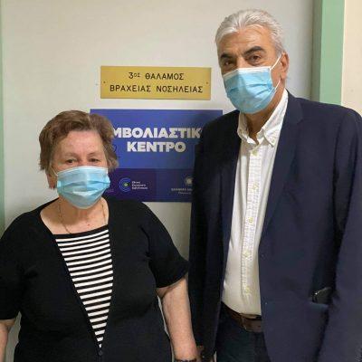 Έναρξη εμβολιασμών στο Κέντρο Υγείας Σερβίων