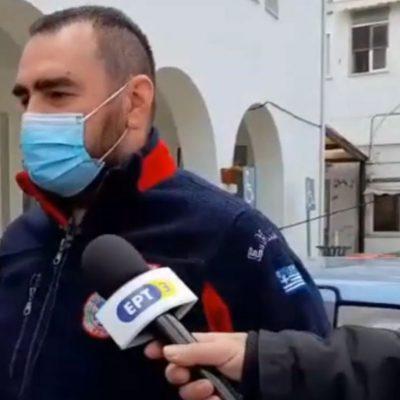 kozan.gr: Σημερινές (6/4) δηλώσεις του Προέδρου του Εργασιακού Σωματείου ΕΚΑΒ Δυτικής Μακεδονίας, Θωμά Σαραφίδη, σε σχέση με την αύξηση των διακομιδών ασθενών με Covid 19 προς άλλα νοσοκομεία (Βίντεο)