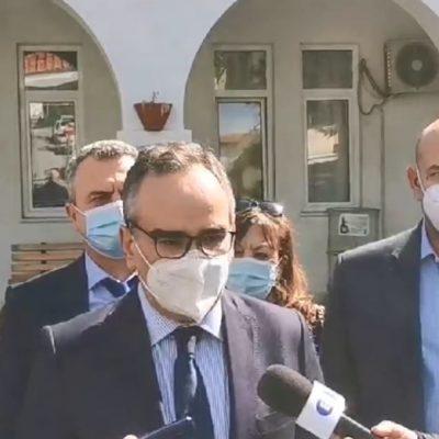 kozan.gr: Τι απάντησε ο Αν. Υπουργός Υγείας, Βασίλης Κοντοζαμάνης, από την Κοζάνη, σε ερώτηση του kozan.gr σε σχέση με τα μέτρα κι αν η αύξηση των κρουσμάτων στην Π.Ε. Κοζάνης είναι μόνο θέμα ατομικής ευθύνης – Έχει ευθύνες η κυβέρνηση; (Βίντεο)