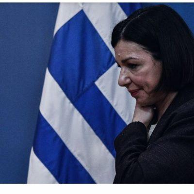 Τι απάντησε η Αριστοτελία Πελώνη σε ερώτηση  για λιανεμπόριο σε Θεσσαλονίκη, Κοζάνη και Αχαΐα και εστίαση