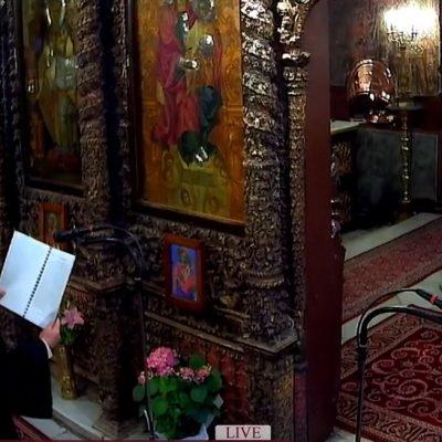 Ζωντανή μετάδοση από τον Ιερό Μητροπολιτικό Ναό Αγίου Νικολάου Κοζάνης – Δ΄ ΧΑΙΡΕΤΙΣΜΟΙ – 9/4/2021