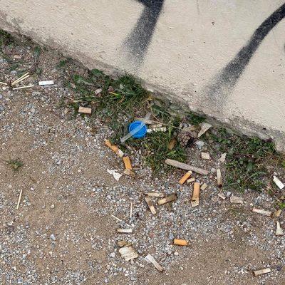 Σχόλιο αναγνώστη στο kozan.gr: Γεμάτα αποτσιγάρα ο Δημοτικός Κήπος Κοζάνης – Σιχαίνεσαι να κάτσεις ή να περπατήσεις (Φωτογραφίες)