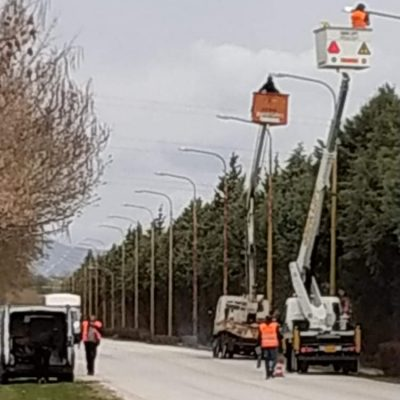 kozan.gr: Νέα φωτιστικά τύπου led στο δρόμο Πτολεμαΐδας – Μποδοσάκειο τοποθετεί ο δήμος Εορδαίας (Βίντεο)