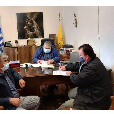 Υπογραφή σύμβασης για το έργο: «Συντήρηση αύλειου χώρου 2ου νηπιαγωγείου Πτολεμαΐδας»