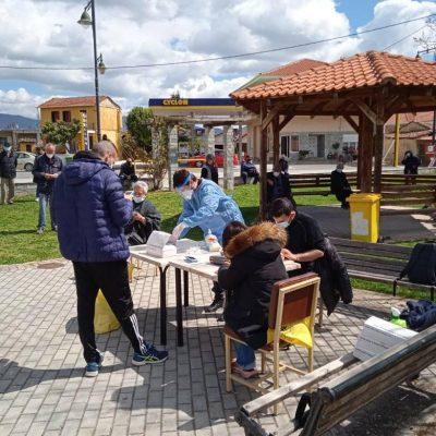 kozan.gr: 3 θετικά κρούσματα κορωνοϊού στις  97 δειγματοληψίες, μέσω rapid tests, στη σημερινή διαδικασία, που πραγματοποιήθηκε στο Βαθύλακκο του Δήμου Σερβίων
