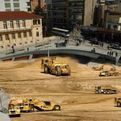 Έναρξη εργασιών μπαζώματος κεντρικής πλατείας Κοζάνης – Μελέτη – επίβλεψη έργου Άδωνις Γεωργιάδης (Γράφει ο Γιάννης Σιδέρης)