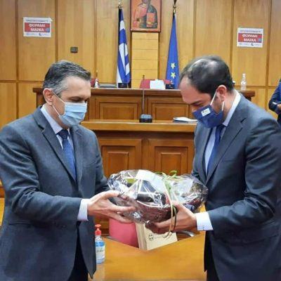 """Γ. Κασαπίδης: """"Προωθούμε συστηματικά σε συνεργασία με το Υπουργείο, την αναβάθμιση των δύο αεροδρομίων μας"""""""