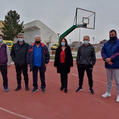 Καλλιόπη Βέττα:  Συναντήσεις με αθλητικά σωματεία Κοζάνης και Εορδαίας