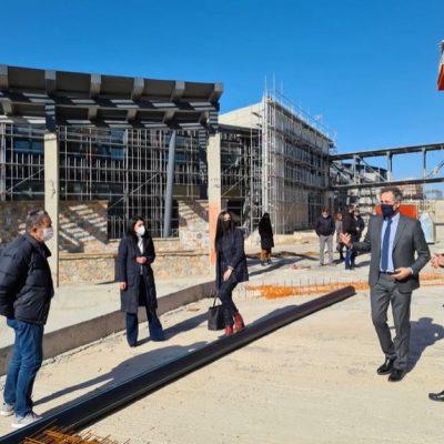 Επίσκεψη στην υπό κατασκευή Πανεπιστημιούπολη στην περιοχή ΖΕΠ Κοζάνης του Βουλευτή Π.Ε. Κοζάνης Στάθη Κωνσταντινίδη (Βίντεο)