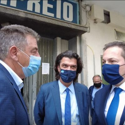 Η επίσκεψη του Αν. Υπουργού Εσωτερικών, Στέλιου Πέτσα στα Γρεβενά (Bίντεο)